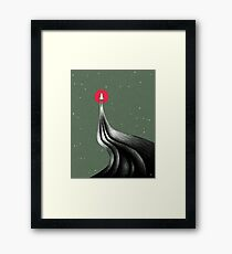 Headed to Mars Framed Print