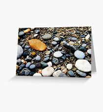 Pebbles at Point Pelee, Ontario Greeting Card