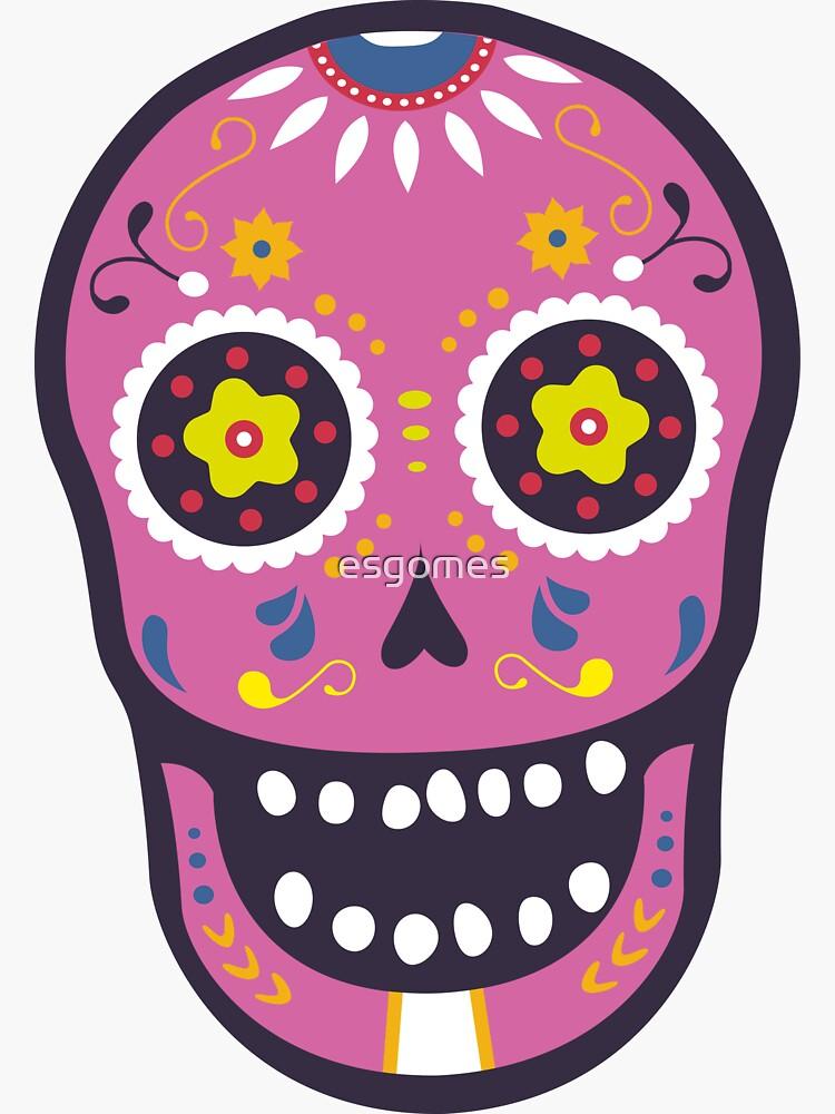Pink Sugar Skull by esgomes