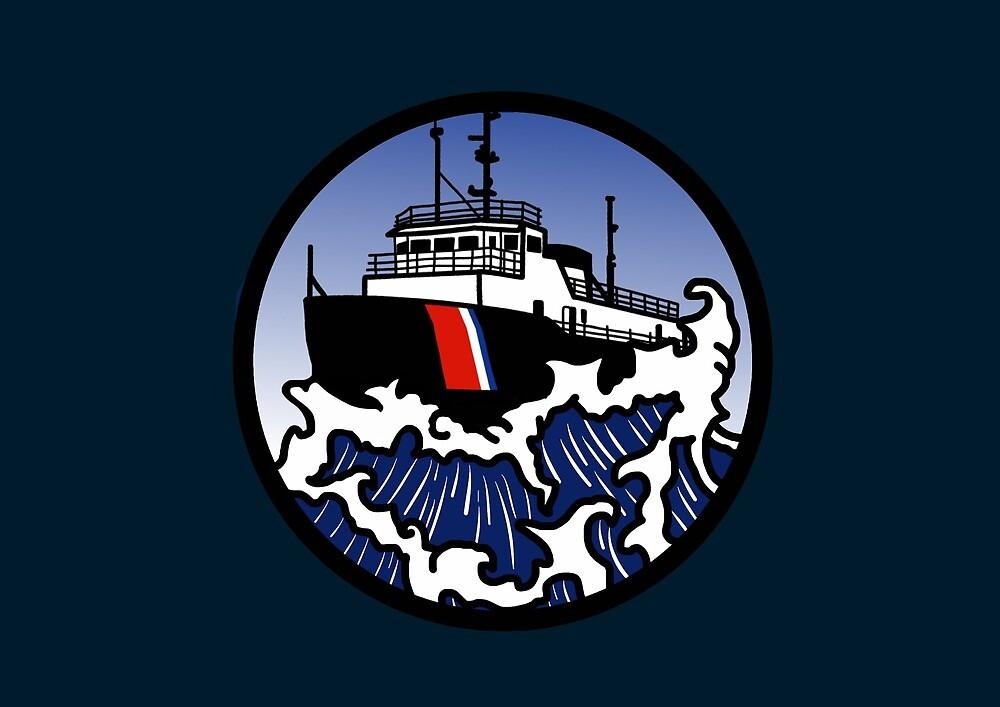 Wave Series - Great Lakes Icebreaker by AlwaysReadyCltv