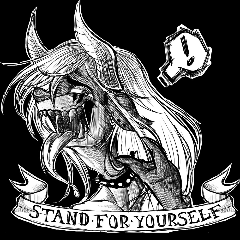 Stand for yourself by zuckey