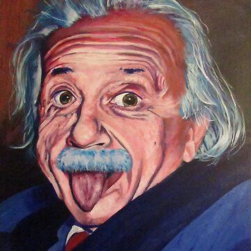 SIlly Einstein by BenLingren