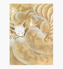 Sleeping Ninetails - Kitsune Fox Yokai Photographic Print
