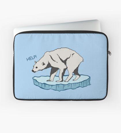 Polar Bear - Help! Laptop Sleeve