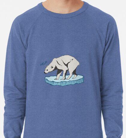 Polar Bear - Help! Lightweight Sweatshirt
