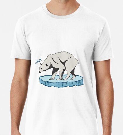 Polar Bear - Help! Premium T-Shirt