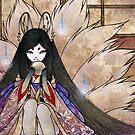 Hoshi no Tama - Kitsune Fox Yokai by TeaKitsune