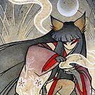 Fox Spell - Kitsune Yokai Japanese by TeaKitsune
