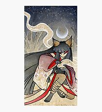 Fox Spell - Kitsune Yokai Japanese Photographic Print