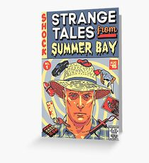 Strange Tales from Summer Bay Greeting Card