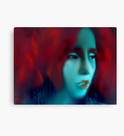 Red Fury Canvas Print