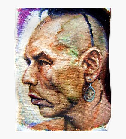 Wes Studi as Magua In The Last Of The Mohicans  Poster