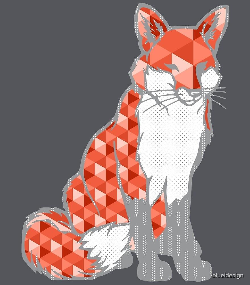 Fox Scandinavian Geometric by blueidesign