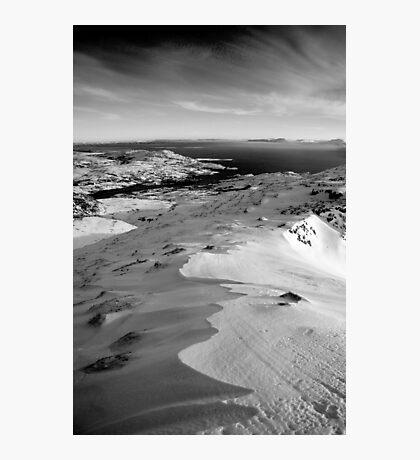 snow capped sleiveleague Photographic Print