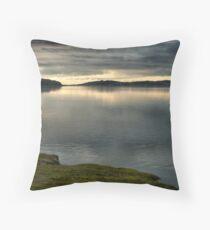 Kent Estuary Throw Pillow