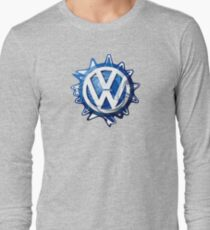 VW look-a-like logo  Long Sleeve T-Shirt