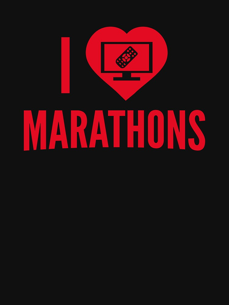 I Love Marathons by AmazingVision