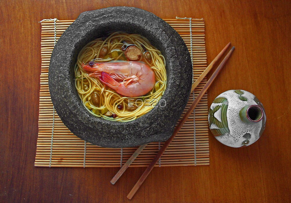 Prawn Noodles  by EOS20