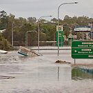 Goodna, Qld 2011 floods by Tim  Geraghty-Groves