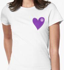VW Dark Purple Heart  T-Shirt
