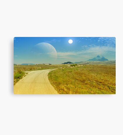 Gateway to the West - Earthsea Canvas Print