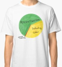 Wie Michael seine Zeit verbringt Classic T-Shirt