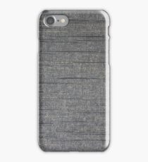 Gray streaks  iPhone Case/Skin