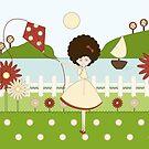 «Marieta, la niña de la cometa» de elsa garcía