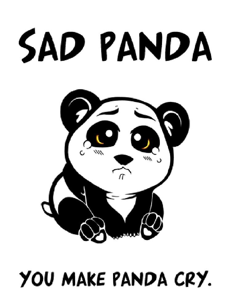 Sad Panda  by rackofski