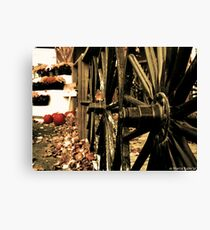 Wagon Wheels Canvas Print