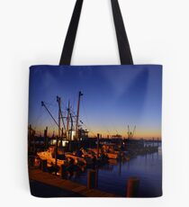 Docked Overnight Tote Bag