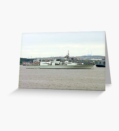 H.M.C.S.Montreal Greeting Card