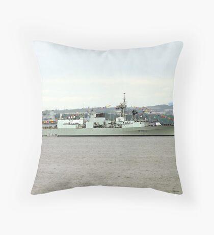 H.M.C.S.Montreal Throw Pillow