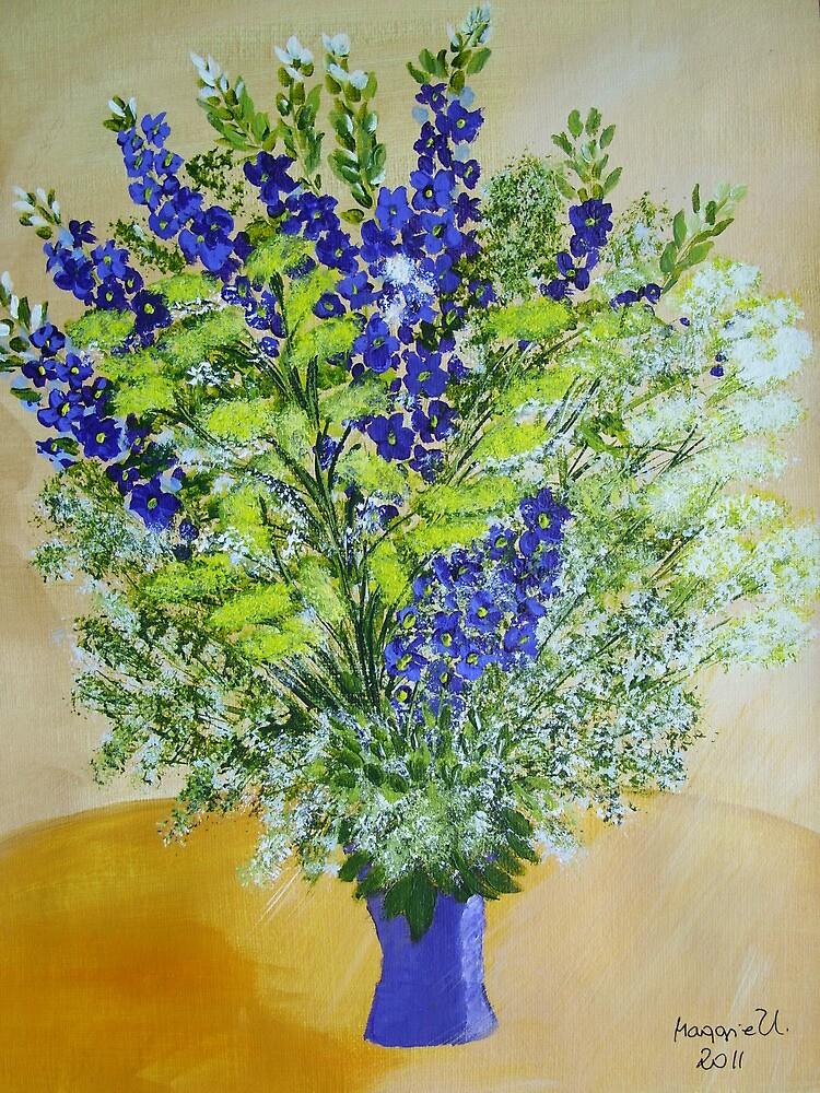 wild flowers in Vase by maggie326
