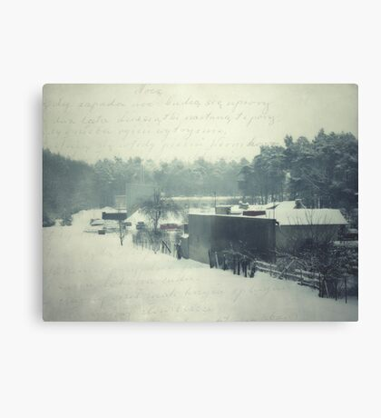 Postcard from the past... Canvas Print