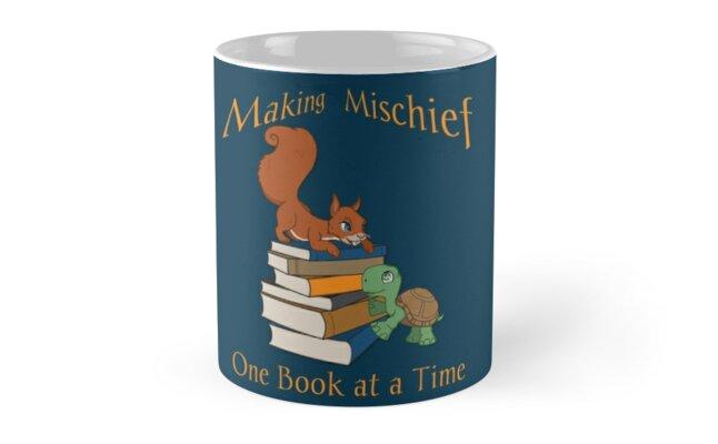 Making Mischief - Squirrel and Turtle by mischiefcorner