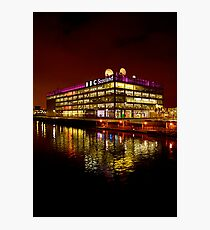 Floating BBC Scotland Photographic Print