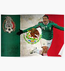 Chicharito Mexico Poster Design Poster