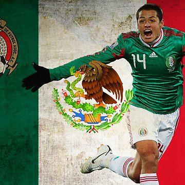Chicharito Mexico Poster Design by NPDesigns