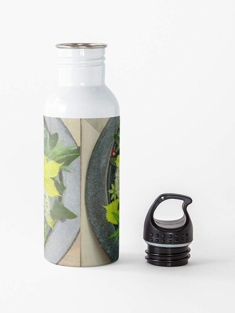 Alternate view of A Garden in the Palm of My Hand Water Bottle