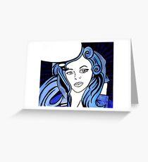 Blue Bird Version 1 Greeting Card