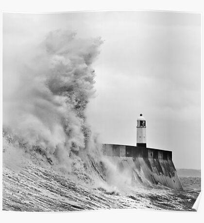 Porthcawl Lighthouse Poster