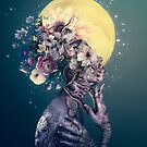 Yellow Moon by RIZA PEKER