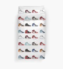 Jordan 1 Collection Duvet Cover