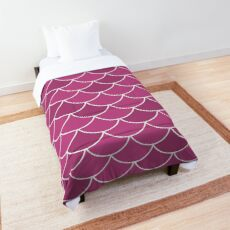 Mulberry Fish Scales Comforter