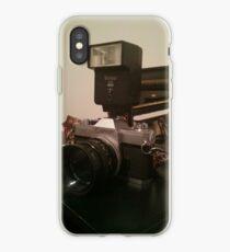 Old school canon camera :) iPhone Case