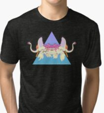 Ancient Psychic Tandem War Elephant Tri-blend T-Shirt