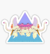 Ancient Psychic Tandem War Elephant Sticker