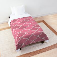 Rose Fish Scales Comforter
