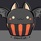 Halloween Bat CupCake - 2019 (Dark Mode) by devicatoutlet